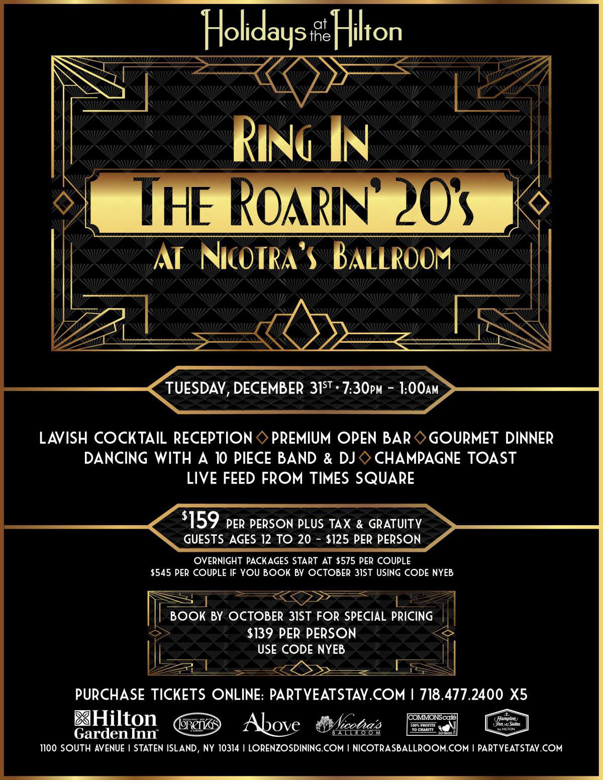 Ring In The Roaring 20's