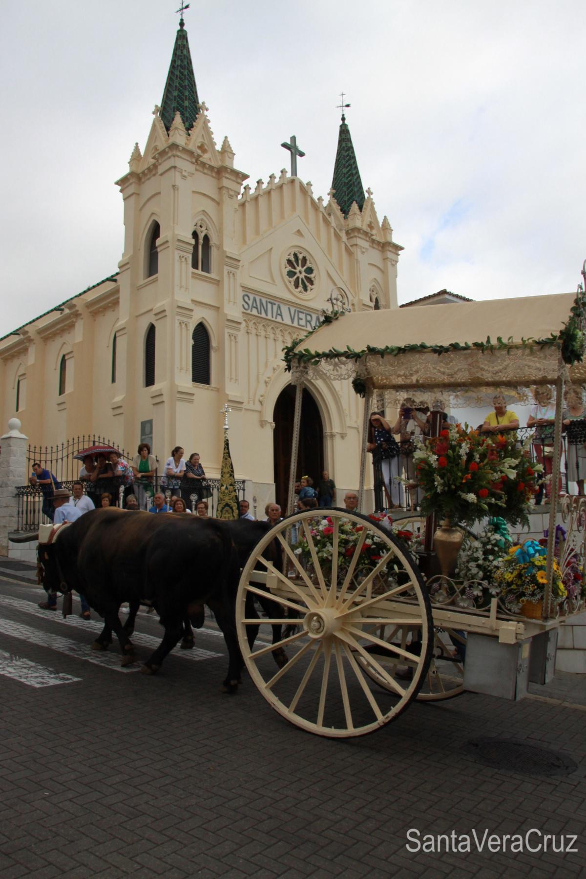 Primera semana del curso cofrade con gran participación de la Vera+Cruz en los actos celebrados: Romería en honor al Señor de las Agonías y Jubileo Sacerdotal del Padre Javier.