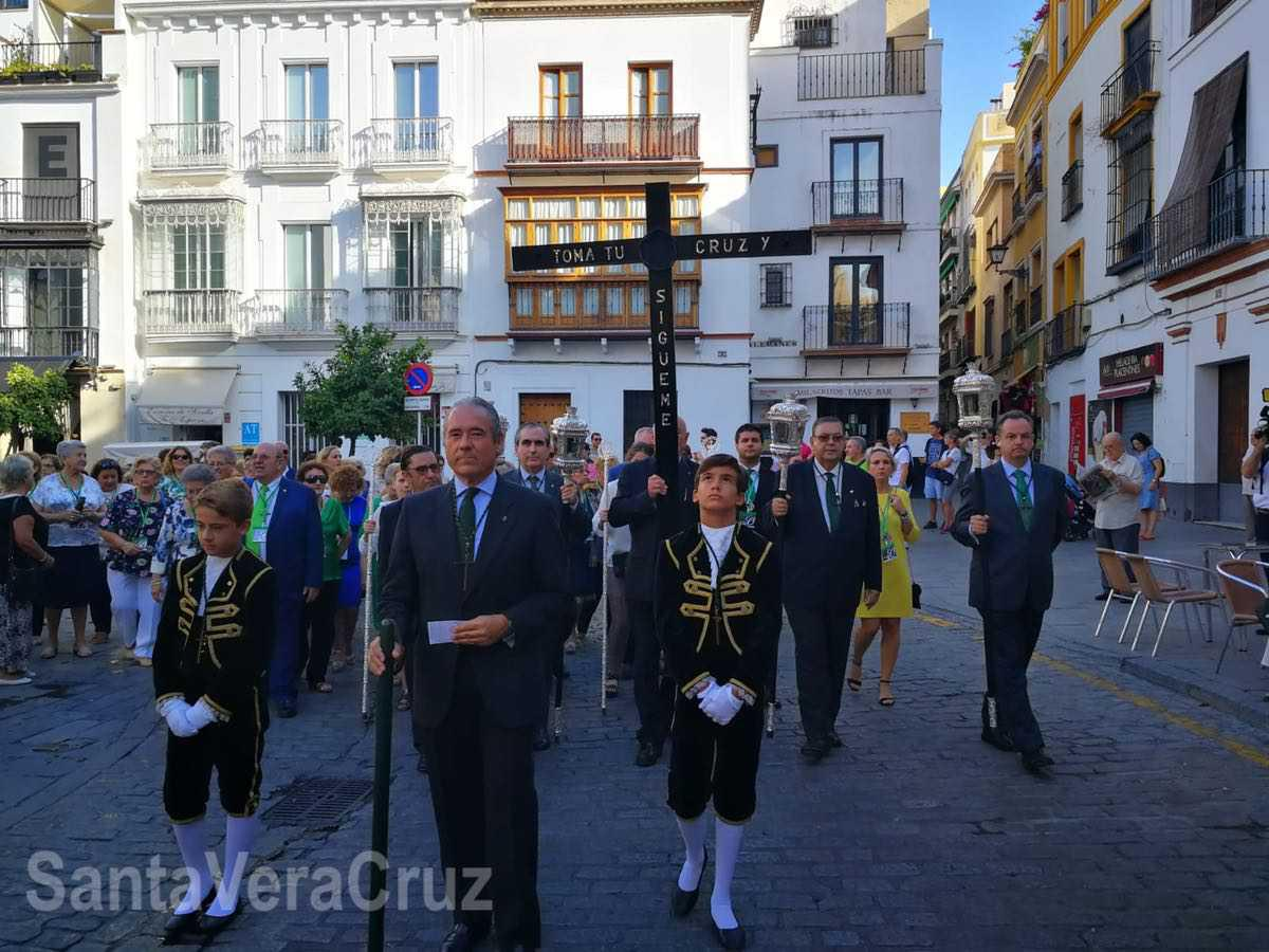 Participación de nuestra Cofradía en la XXXV Peregrinación Nacional de HHCC de la Vera+Cruz.