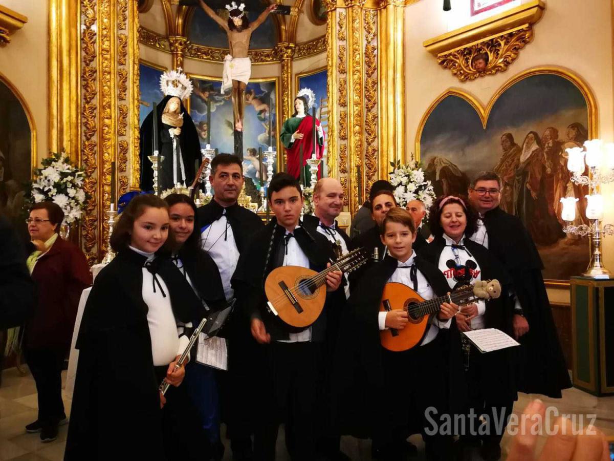 Los Mulliores visitan la ermita del Convento.