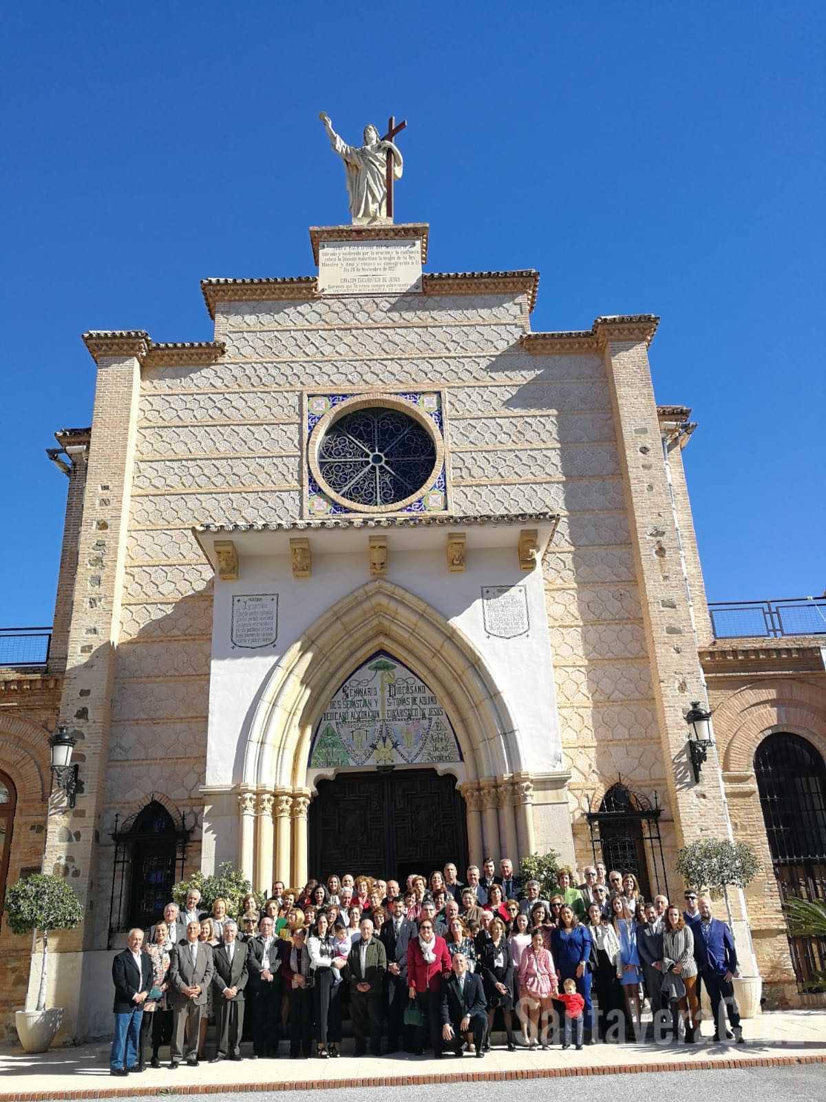 Almuerzo Hermandad y Santa Misa celebrada por el Vicario General D. José A. Sánchez