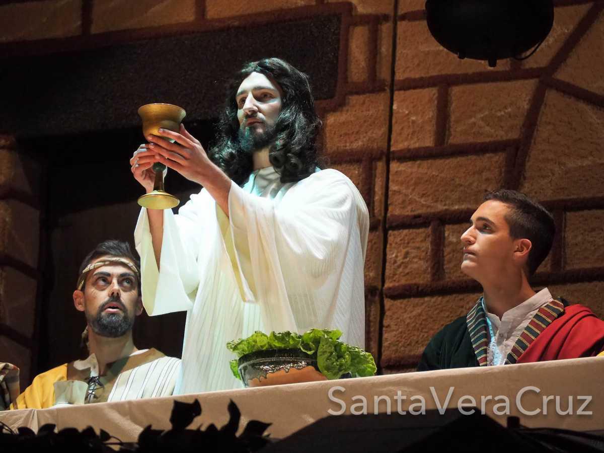Miércoles Santo. La Pasión comienza en el atrio del Convento