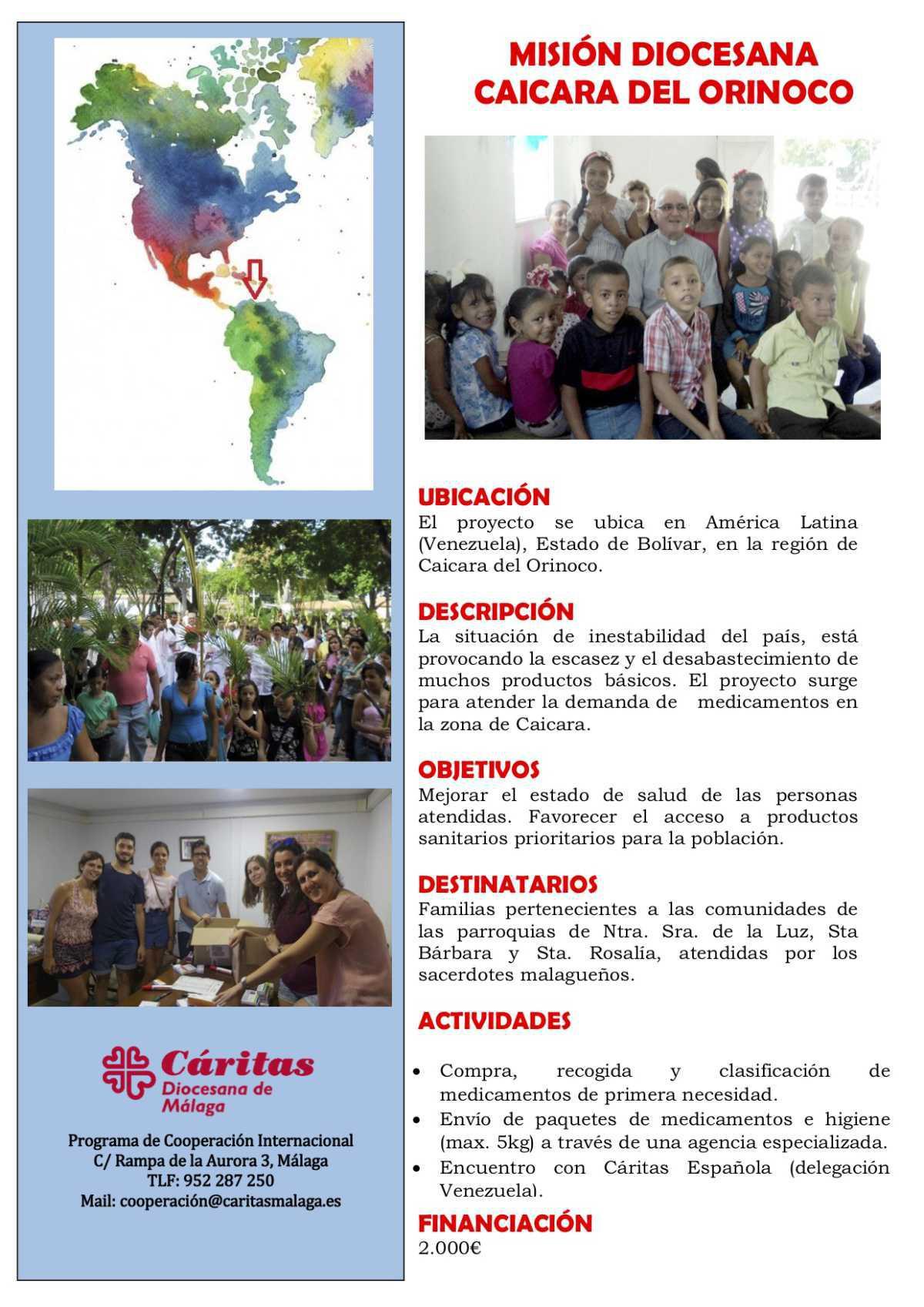 Misión Diocesana Caicara del Orinoco
