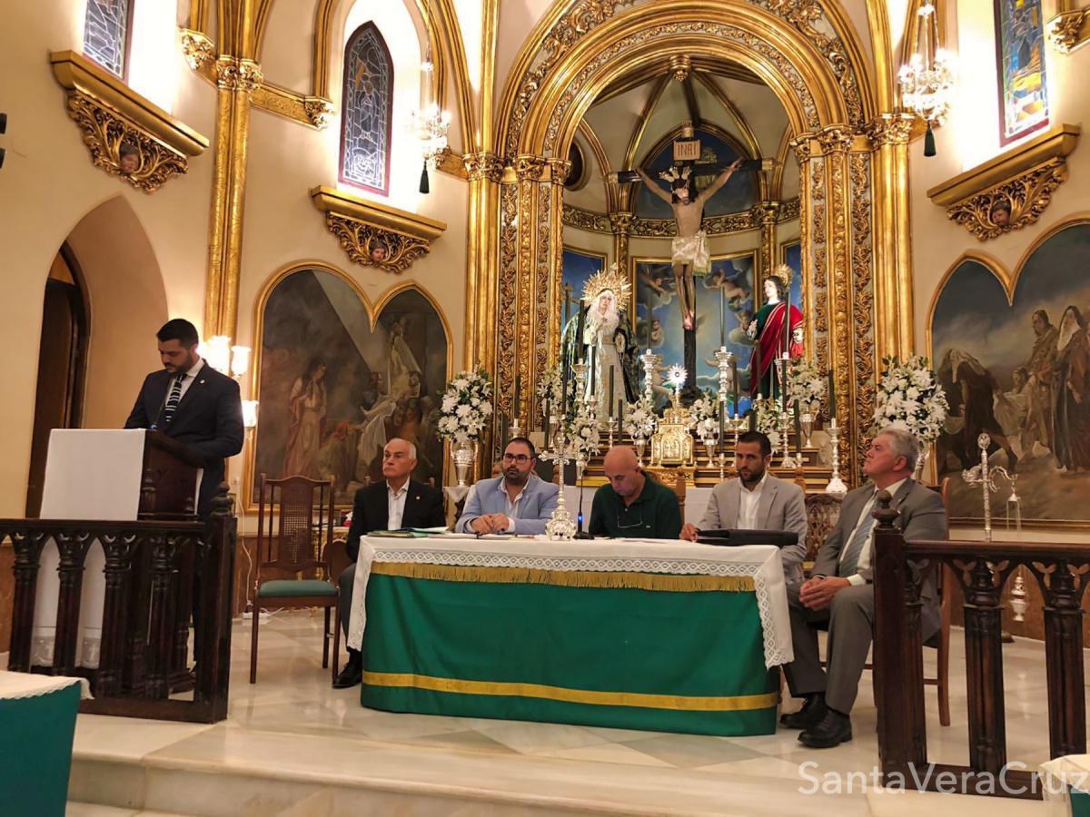 D. José María Díaz Bravo, reelegido Hermano Mayor de nuestra Cofradía para los próximos 4 años.