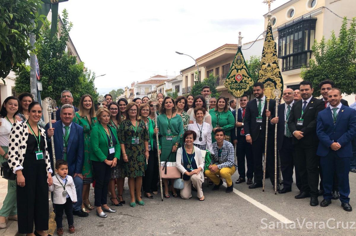 Participación de nuestra Cofradía en la XXXVI Peregrinación Nacional de la Vera+Cruz