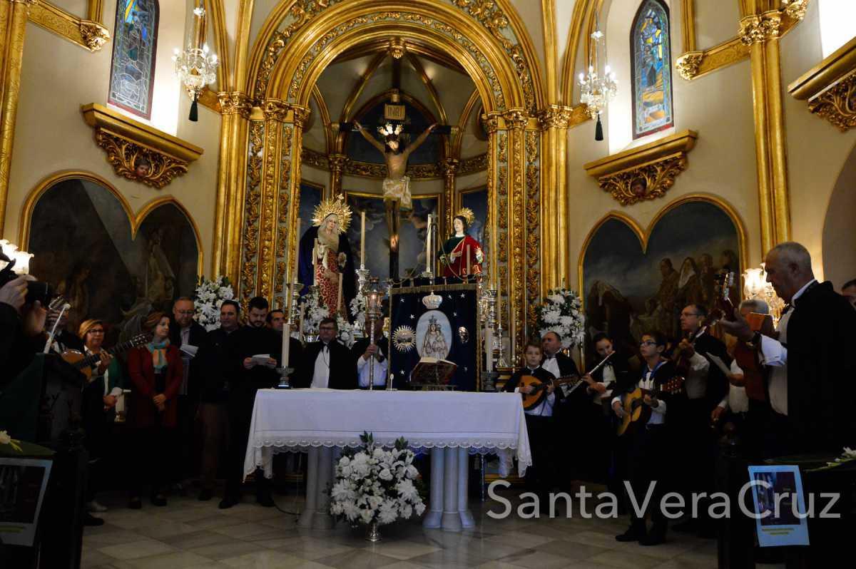 """Visita de """"Los Mulliores"""" a la ermita del Convento"""