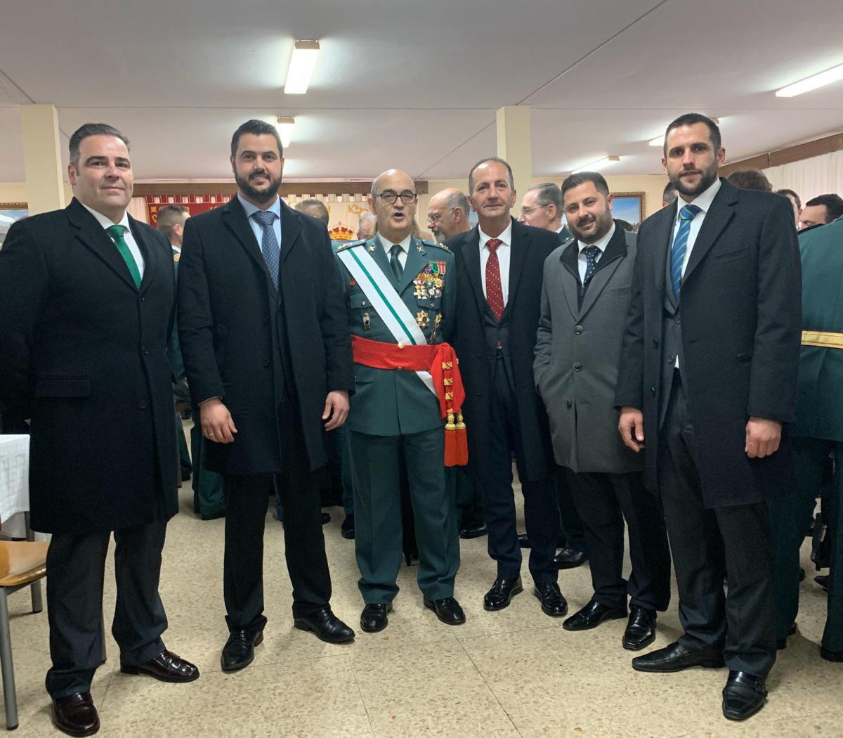 Visita al Colegio de Guardias Jóvenes Duque de Ahumada
