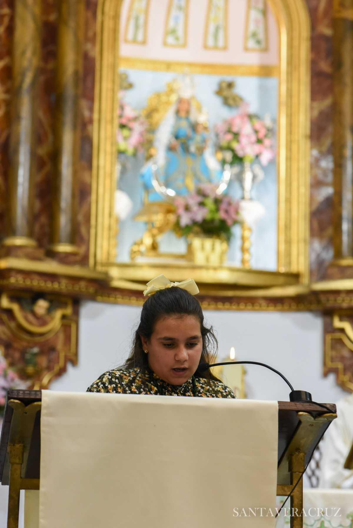 """Triduo en honor del Santísimo. Cristo de la Vera+Cruz: """"Aprended de mi""""."""