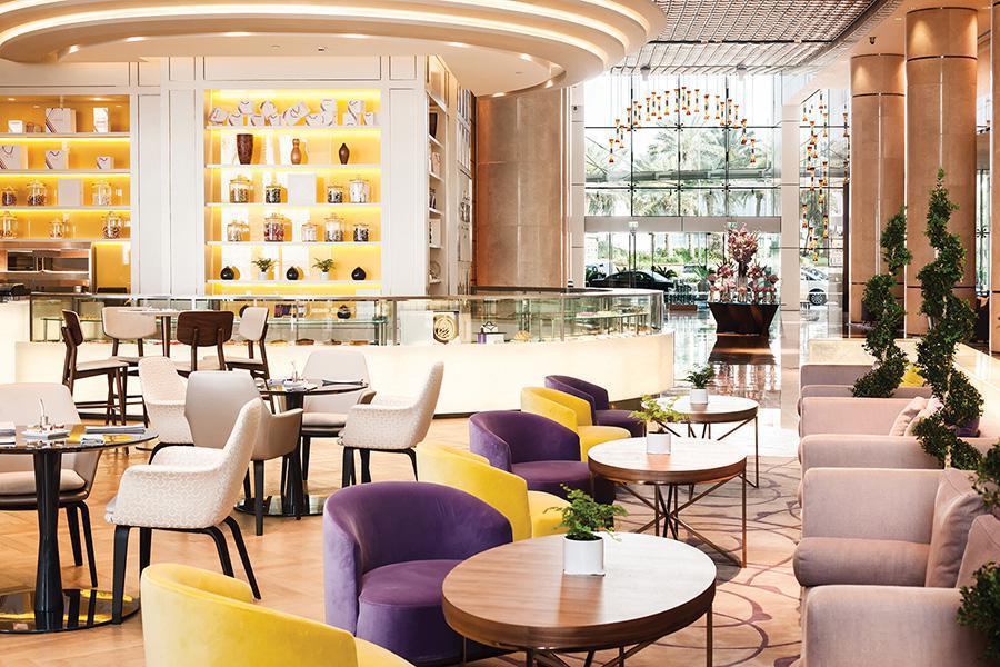 Intercontinental Dubai Festival City - Restaurant Reflets