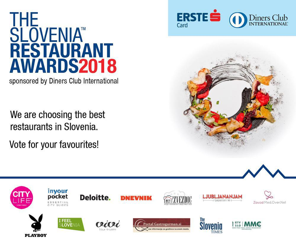 THE SLOVENIA RESTAURANT AWARDS 2018