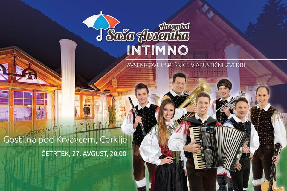 Ansambel Saša Avsenika - Intimno - Avsenikove uspešnice v akustični izvedbi
