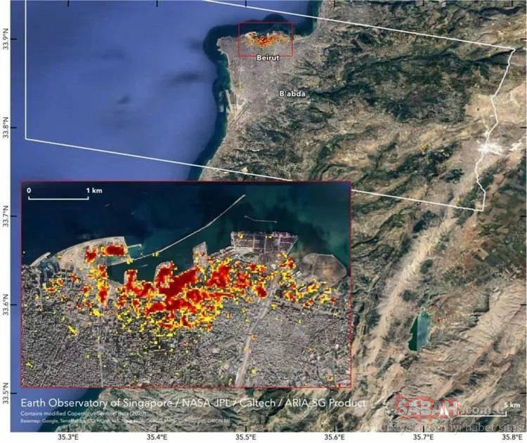 Beyrut Limanı'nda son durum içler acısı