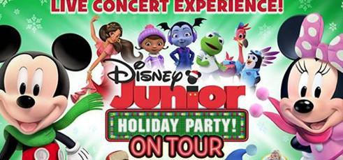 Disney Junior Holiday Party on Tour!