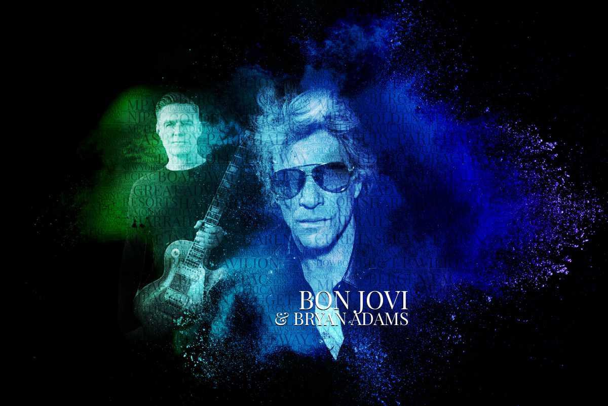 Bon Jovi With Bryan Adams