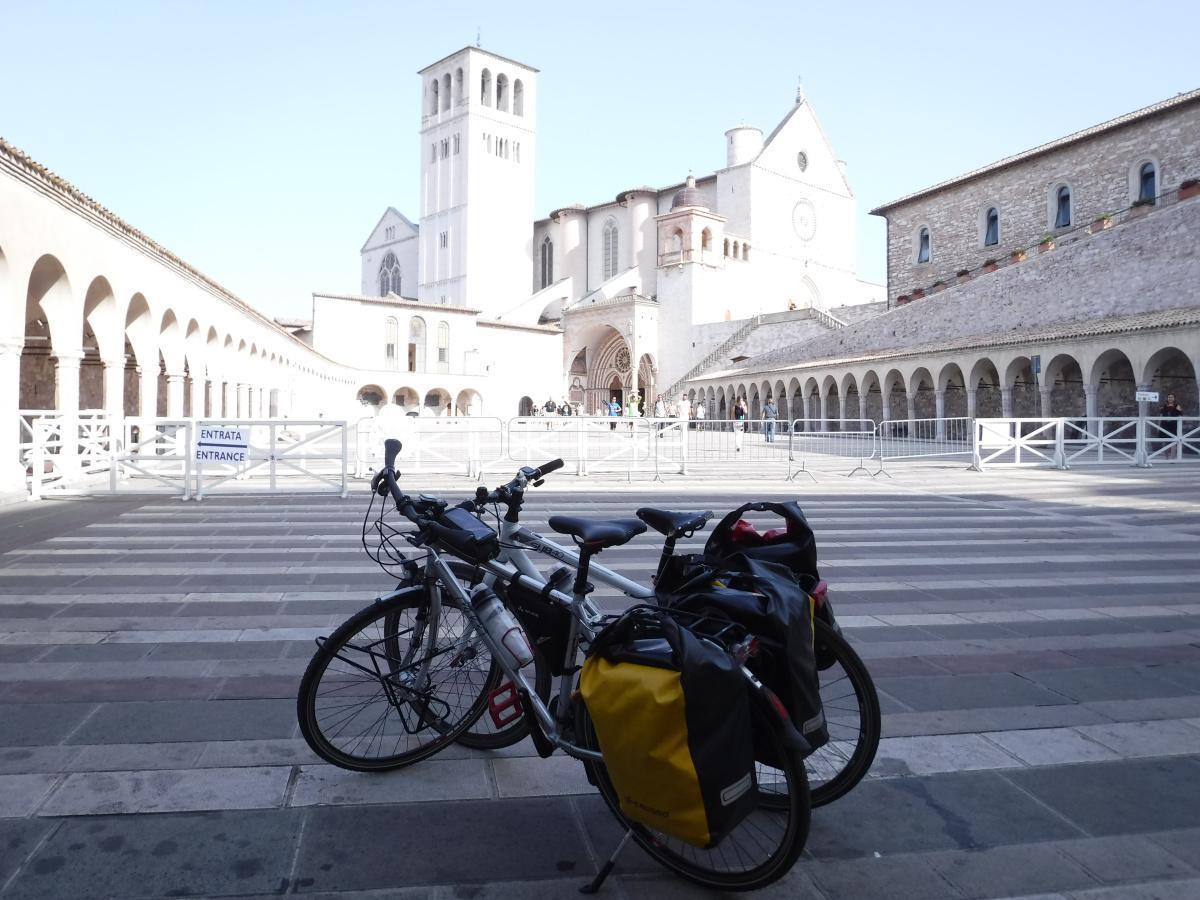 1° Tappa: Assisi - Colfiorito (45 km)