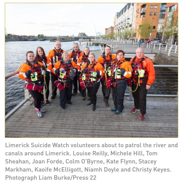 Irish Times : Limerick Suicide Watch: 'You have to be nosy, trust your gut'