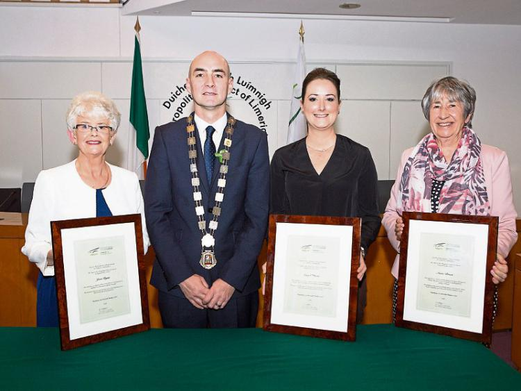 Limerick's mental health trailblazers get very special reception by: Nick Rabbitts (Limerick Leader)