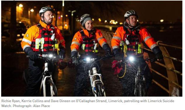 Saving lives along the river Shannon in Limerick. The Irish Times by David Raleigh
