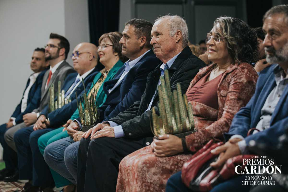 El CIT de Güímar celebra la XV Edición de los Premios Cardón, que este año han recibido Izaña SAT, Artesanía Agael y Bar Cafetería San Pedro.