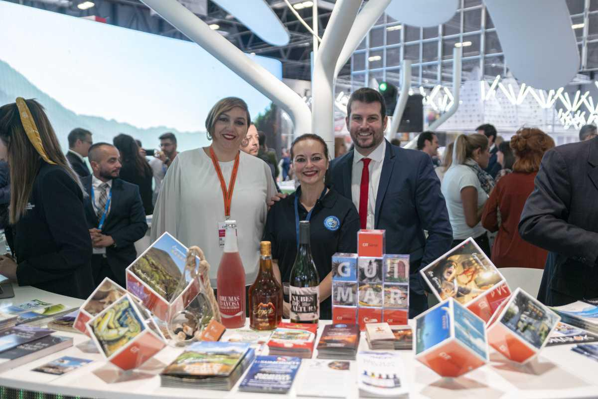 El CIT de Güímar acerca a los visitantes de FITUR los atractivos naturales, gastronómicos e históricos del municipio.