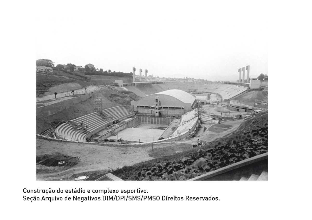 Visita à arquibancada: O Estádio