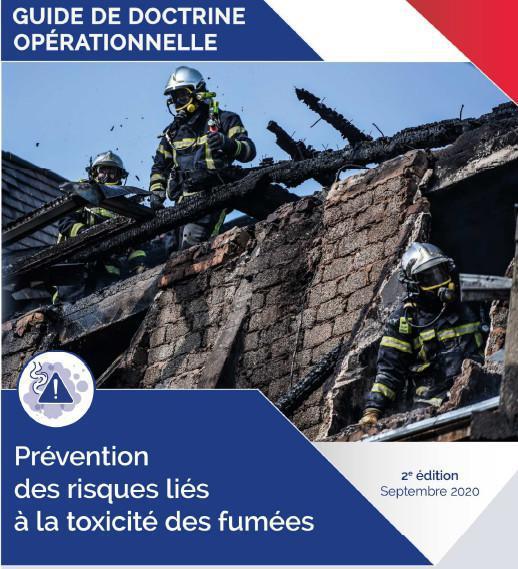 """Guide de doctrine """"Prévention des risques liés à la toxicité des fumées"""""""