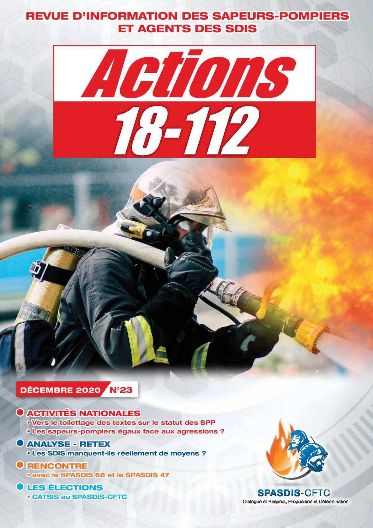 """""""Actions 18-112"""" de décembre est parue"""
