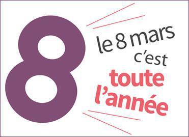 8 mars : journée de la femme