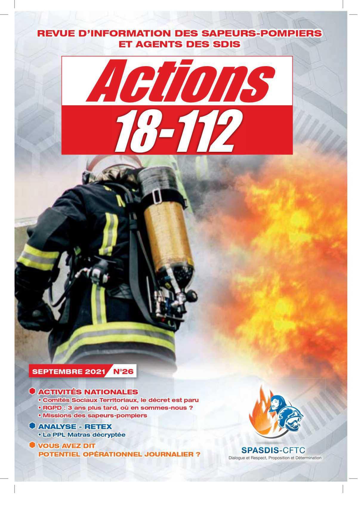Actions 18-112 - Septembre 2021
