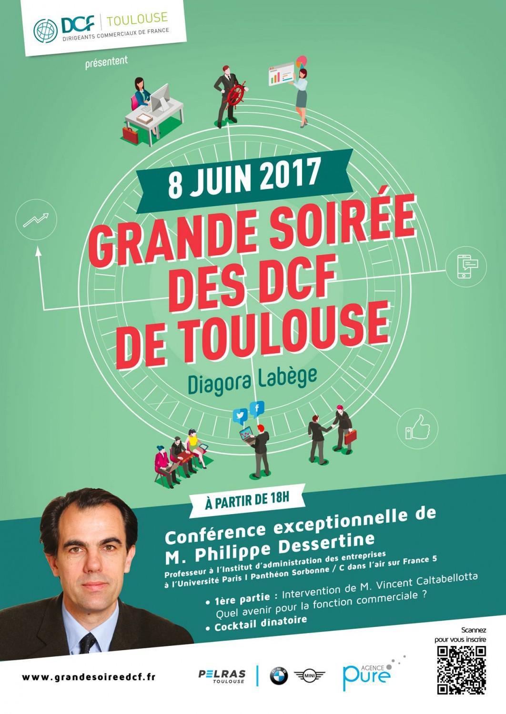 HAUTE GARONNE - TOULOUSE- Grande soirée des DCF de Toulouse avec Philippe DESSERTINE