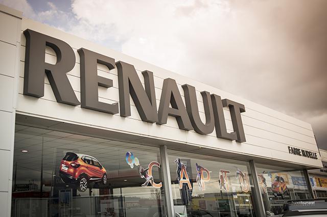 Soirée dans les locaux de Renault avec Yannick Massier