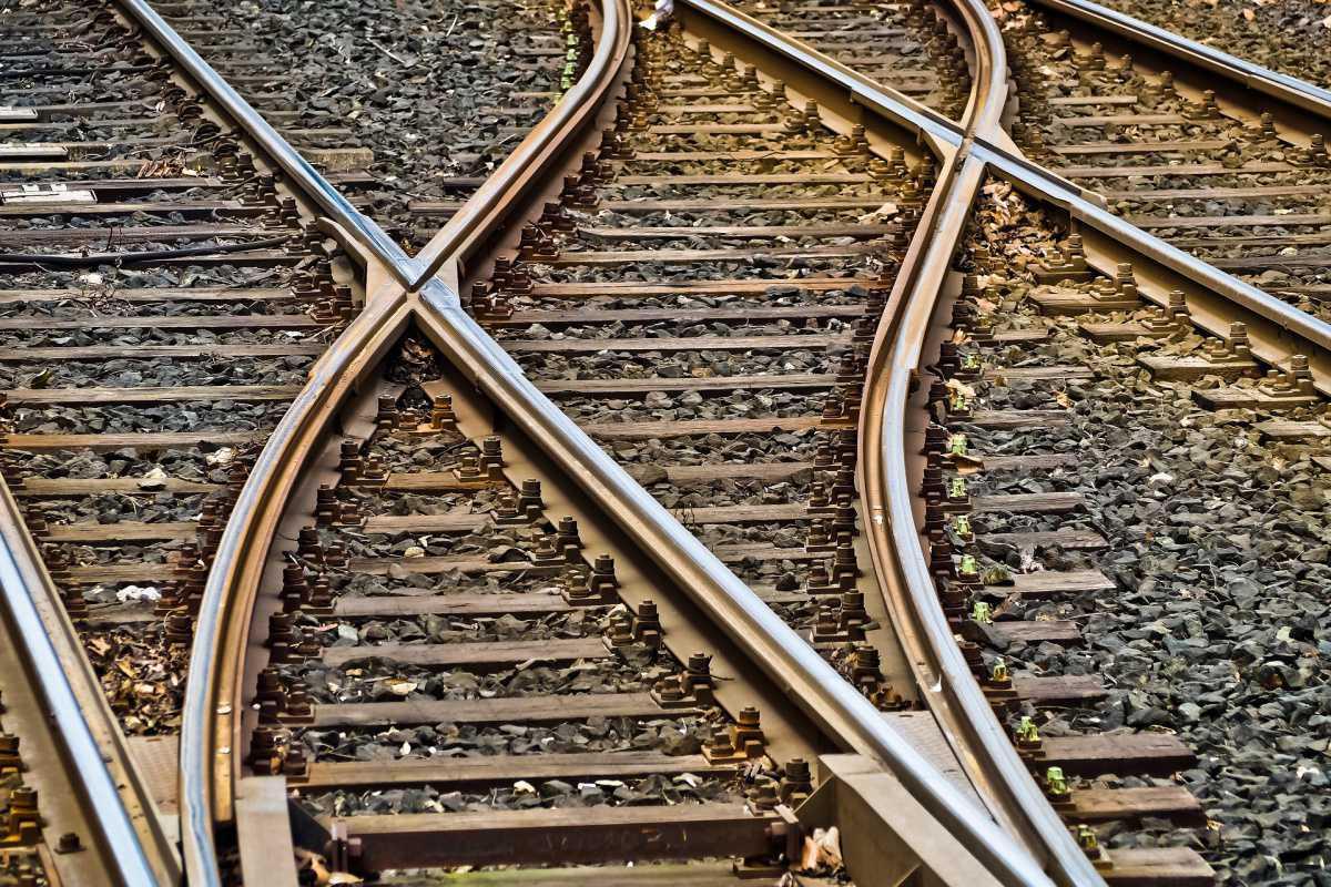 Lebenswege sind wie Zugfahrten