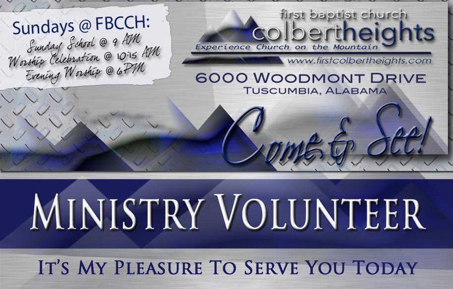 Volunteer @ FBCCH
