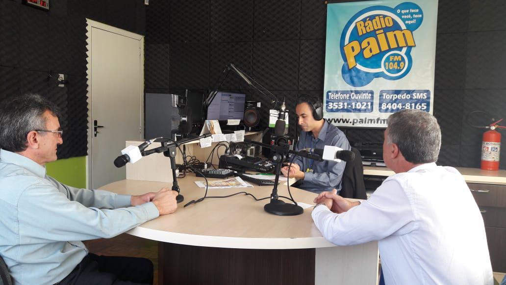 Governador do Rotary distrito 4700 visita Paim Filho