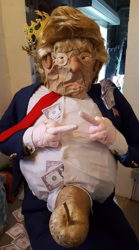 U rè di u carnavale di Brandu era Trumpuffu
