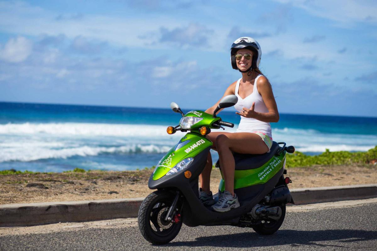 voyage ile maurice pas cher louer un scooter