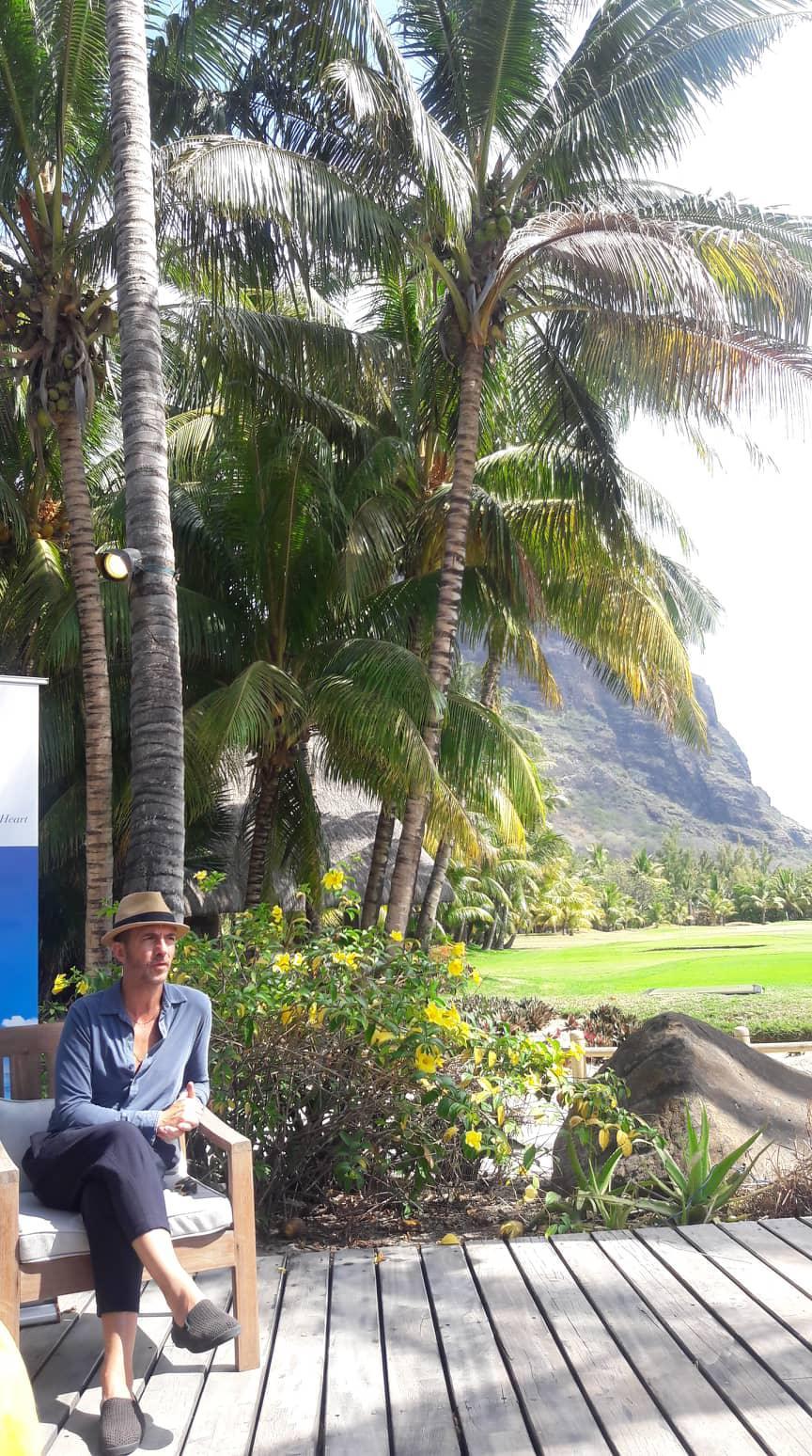 LIBERTE CHERIE Tour: Calogero is in Mauritius!