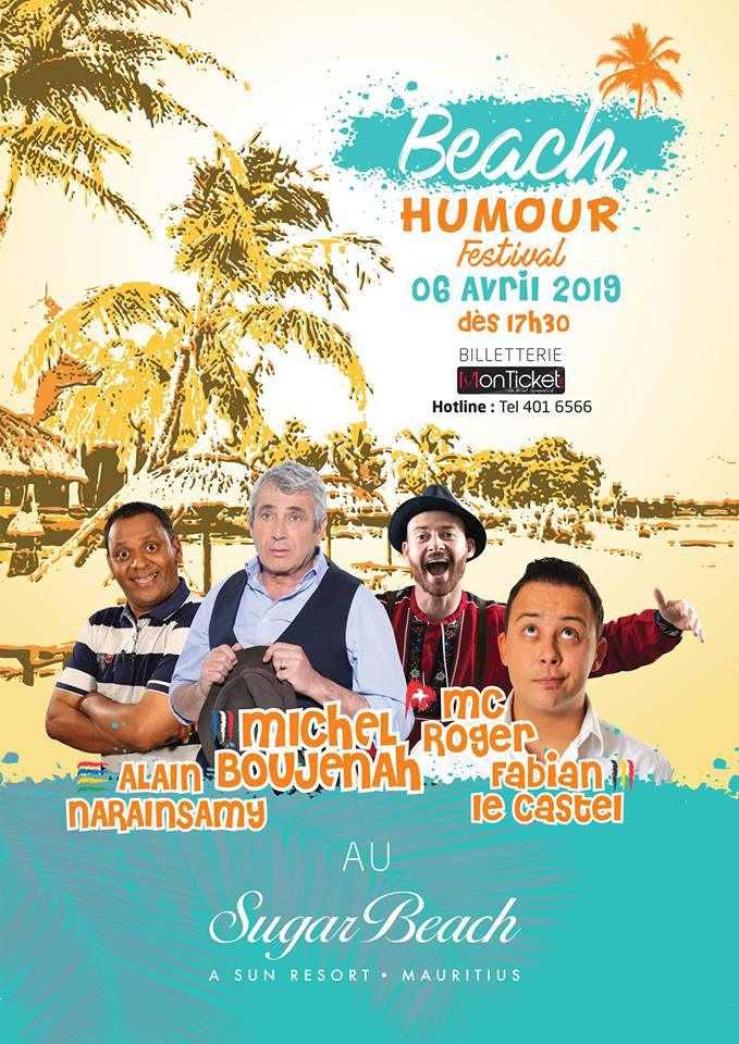 Step into the world of Laughter with the Beach Humour Festival