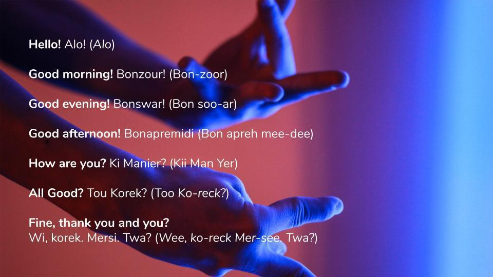 Kreol Morisien? Easy Ways to learn the Language!