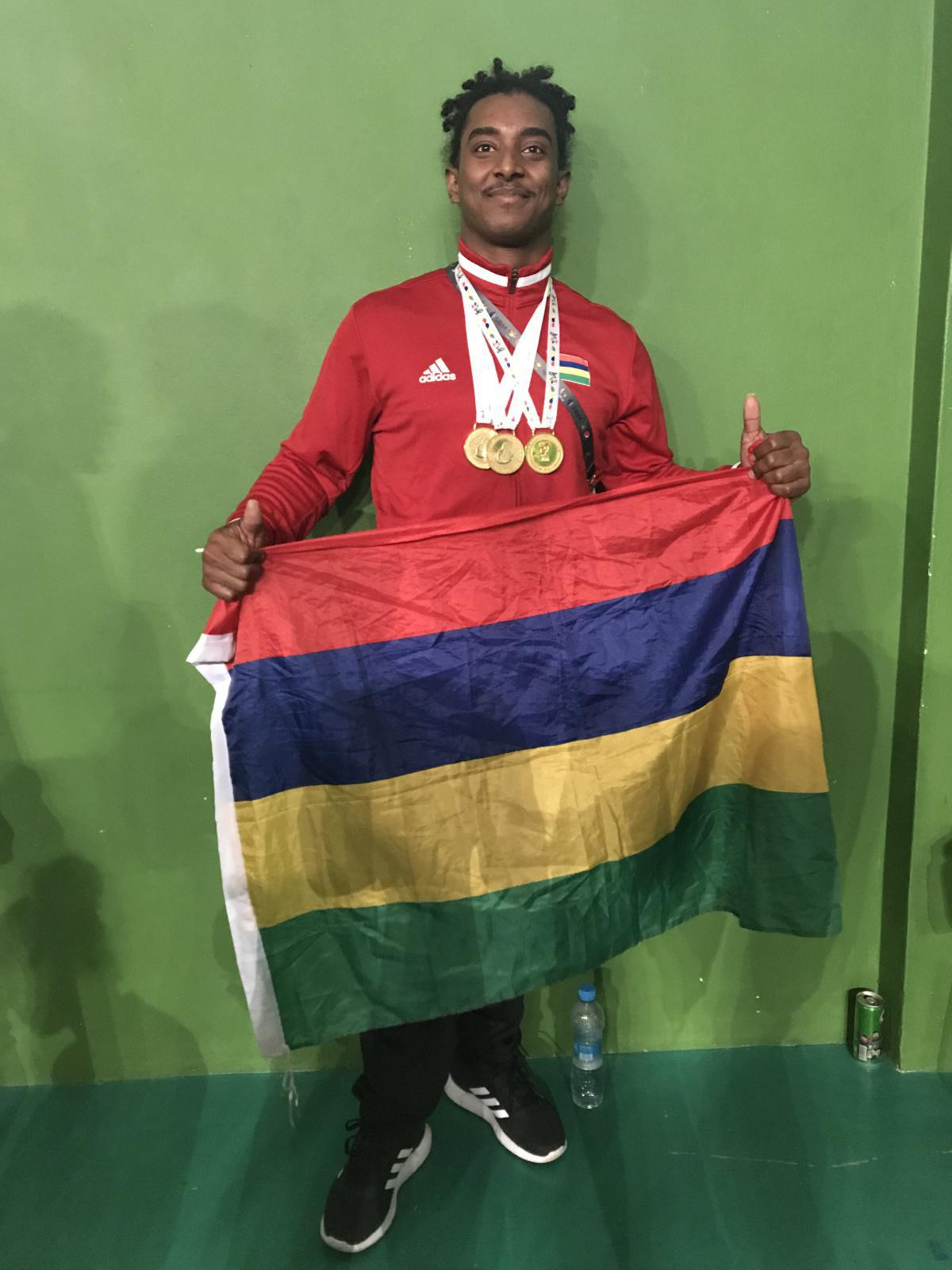 Mauritius wins Island Games for the first time in History
