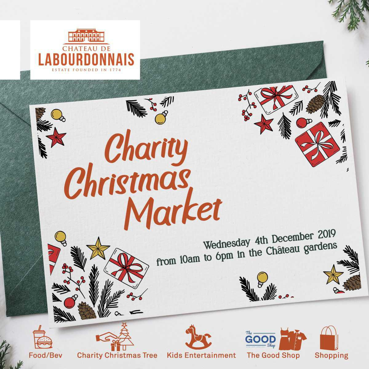 This Christmas, Support A Great Cause with Domaine de Labourdonnais!