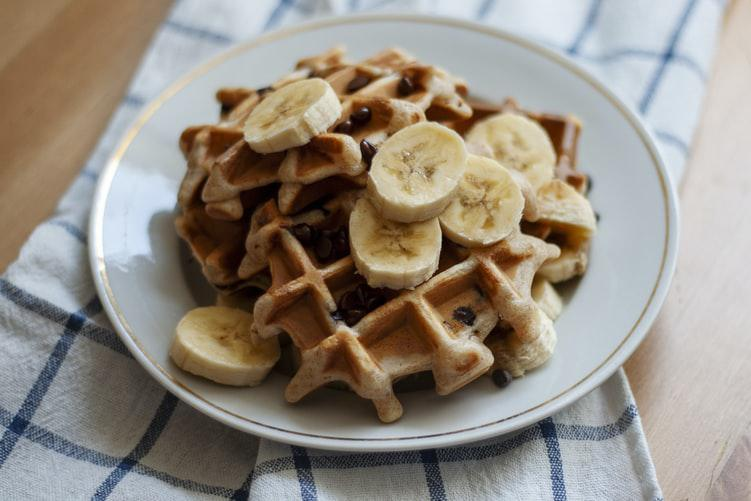 Confinement Recipe #8: Some waffles for breakfast?😊🧇