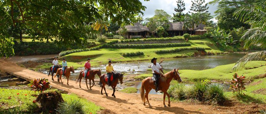 Horse Riding at Domaine de l'toile
