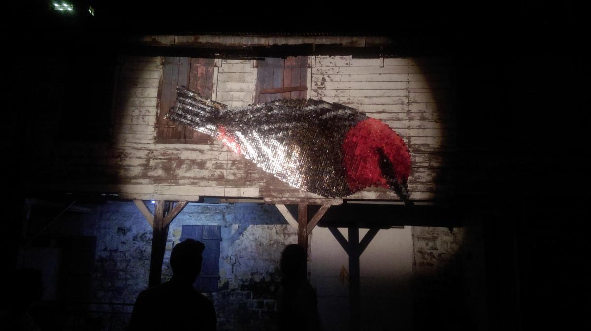Artwork at Port-louis festival