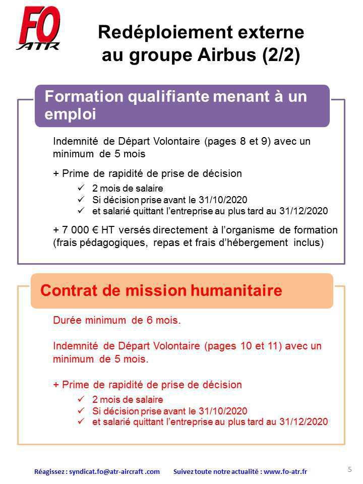 Négociations des modalités du plan d'adaptation : négociations du 31 août