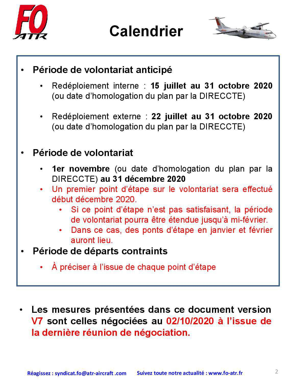 ATR : Synthése des mesures sociales V7
