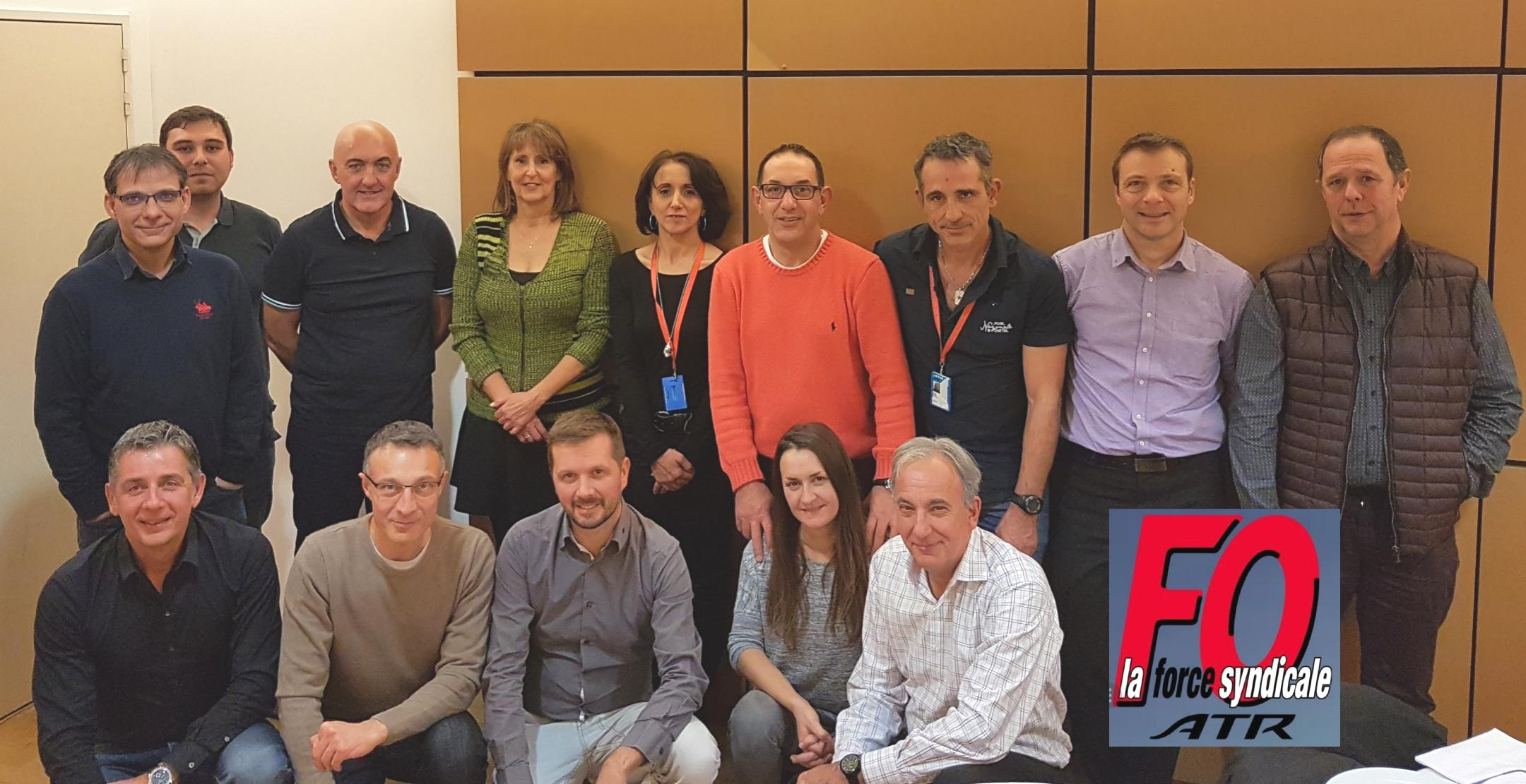 L'équipe FO ATR