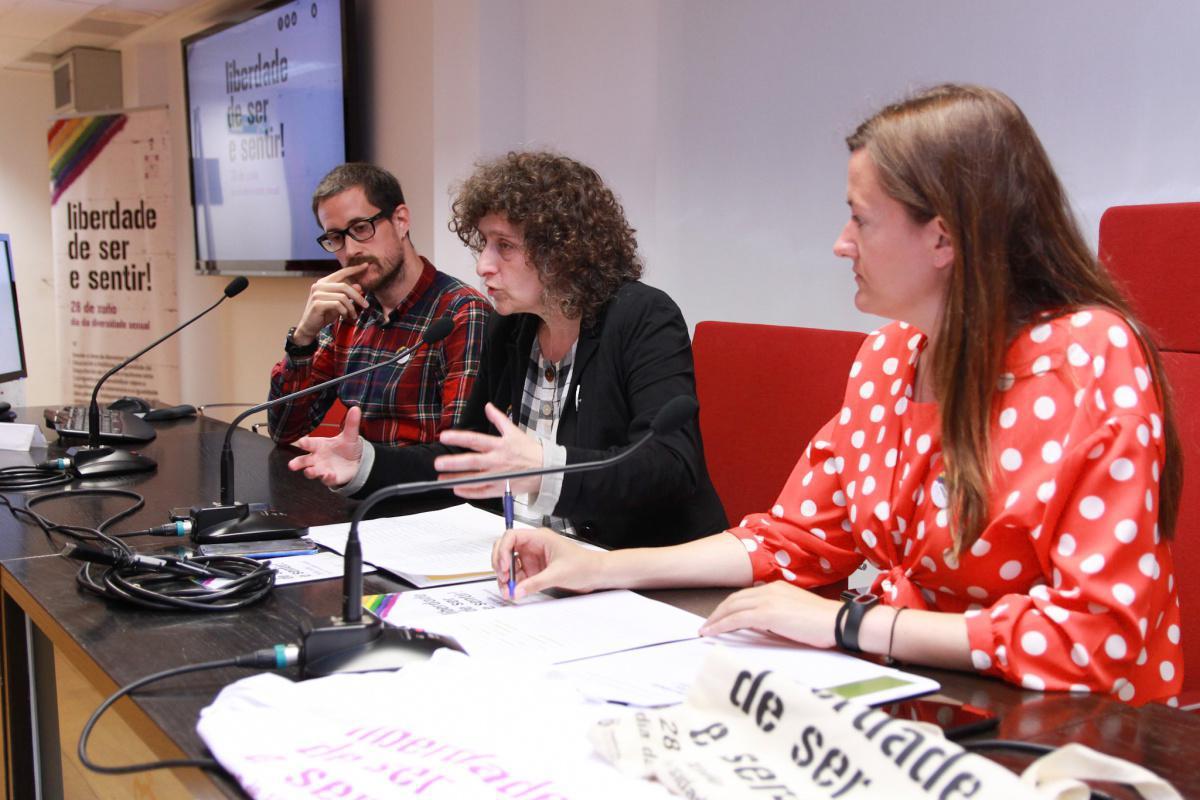 """Máis de trinta e cinco concellos participan na campaña da Deputación da Coruña """"Liberdade de Ser e Sentir!"""""""
