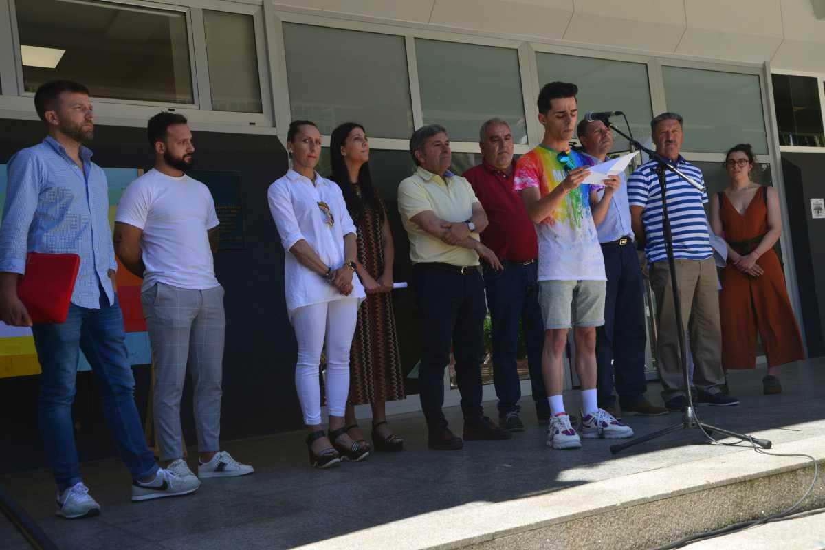 Declaración institucional do Día do Orgullo LGTBIQ+ 2019 lida por Félix Verdes Pinto.