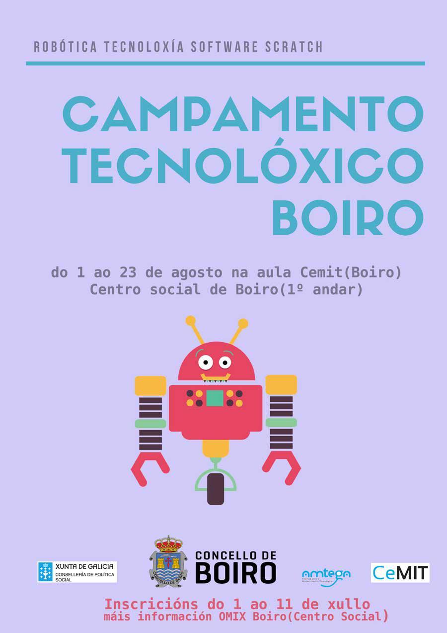 Campamento tecnolóxico Boiro
